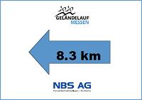 Strecke 8.3 km